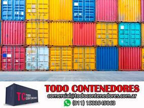 Contenedores Maritimos Nacionalizados 20 Transporte Neuquen