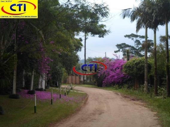 Terreno Em Condomínio Fechado À Venda, 1000 M² - Balneário Palmira - Ribeirão Pires/sp - Te0076