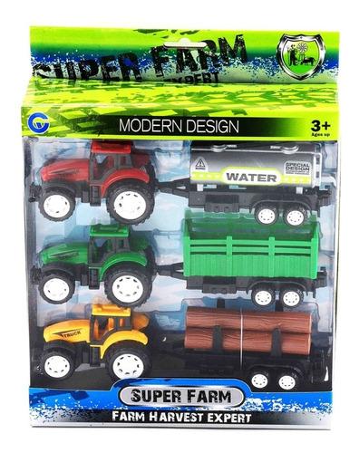 Tractor Rural X 3 Super Farm - Aj Hogar