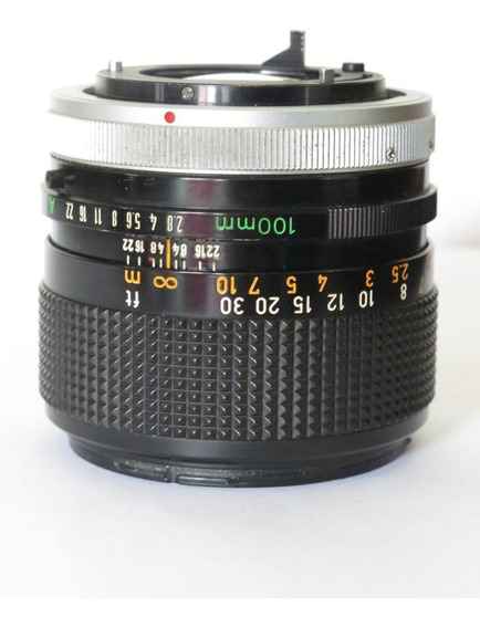 Lente Canon Fd 100mm 2.8 Teleobjetivo