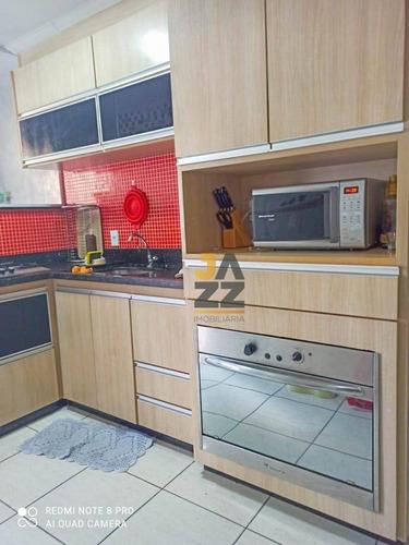 Casa Com 3 Dormitórios À Venda, 97 M² Por R$ 357.000,00 - Villa Flora - Sumaré/sp - Ca13363