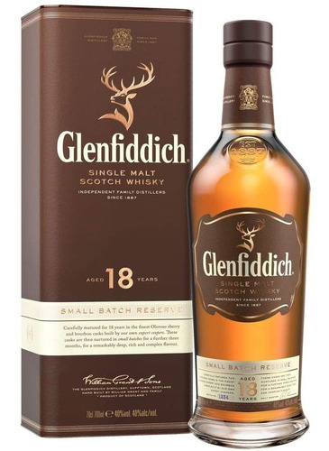 Whisky Glenfiddich 18 Años (750.ml) 100% Original