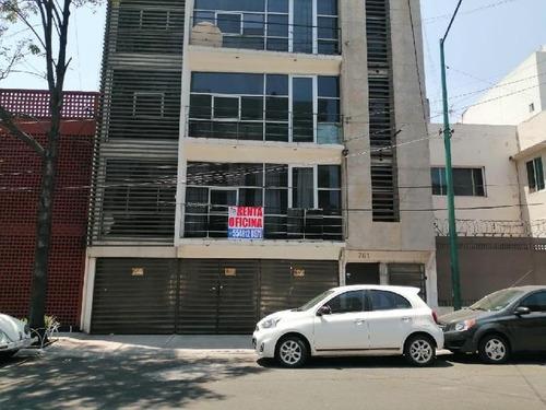 Imagen 1 de 13 de Oficina Comercial En Renta En Viaducto Piedad, Iztacalco, Oficina En Renta En Planta Baja De 90 M2