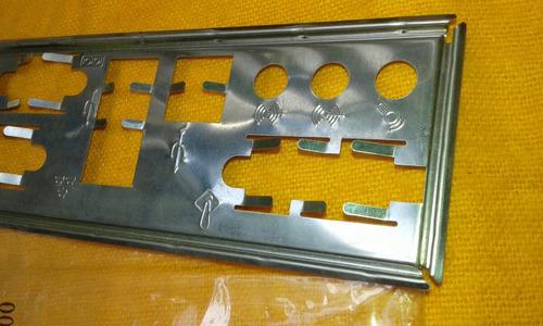 Imagem 1 de 5 de Tampa Espelhada De Conector P/para Placa Mãe Atx.