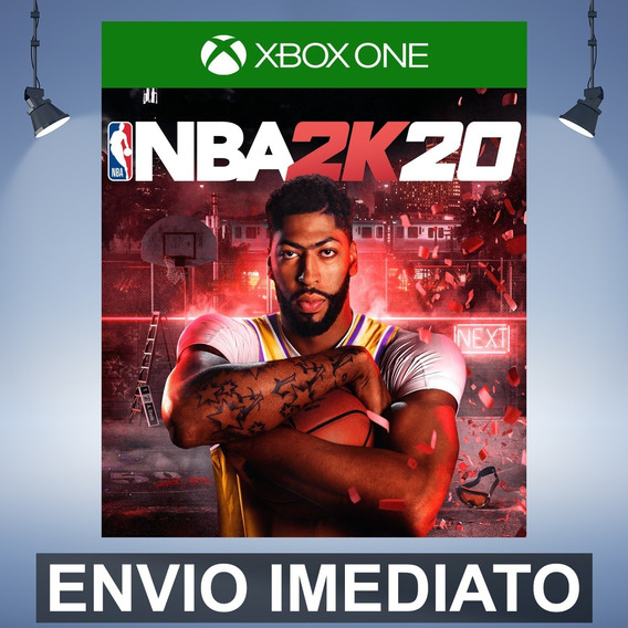 Nba 2k20 Codigo De 25 Digitos Xbox One