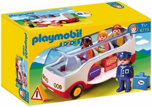 Imagen 1 de 6 de Playmobil 123 6773 Autobus Original Intek