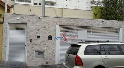 Casa Térrea Residencial À Venda, Tatuapé, São Paulo. - Ca0493