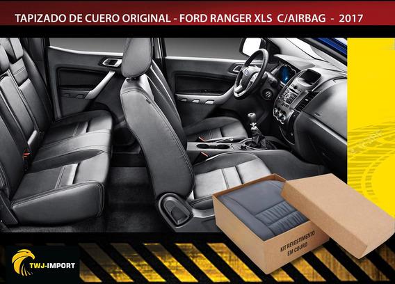 Tapizado De Cuero Original Ford Ranger C/airbag 2017