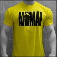 Camiseta Animal Amarela Com Manga Promoção
