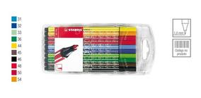Estojo Caneta Stabilo Pen C/10 Unid.
