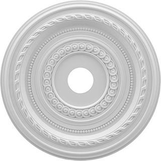 Ekena Millwork Cmp22co Cole Medallón Termoformado Pvc Techo