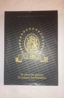 Libro Leones Del Caracas 70 Años De Gloria 70 Juegos Inolvid