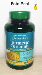 Turmeric Curcumin Extrato De Curcuma Longa - 500 Mg Açafrão