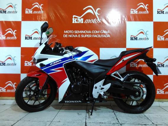 Honda Cbr 500 R Branca 2016