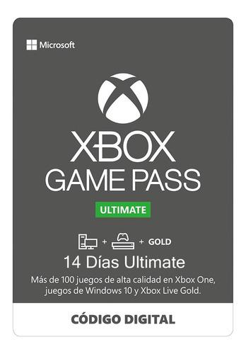 Xbox Game Pass Ultimate 14 Días Código Renovable