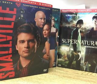 Smalville 4ª E 6ª Temp E Supernatural 1ª Temporada Completos