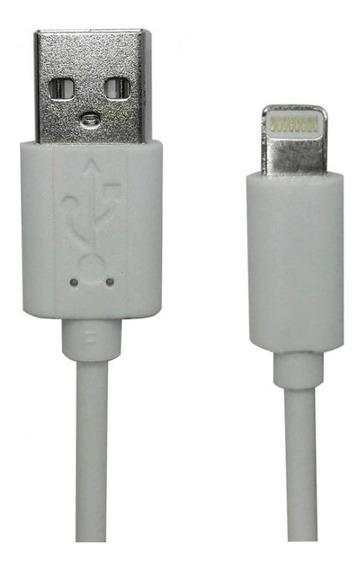 Cabo Multilaser Plug & Play iPhone 5-6-7 1m Branco Wi340