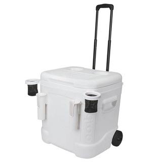 Caixa Térmica Ice Cube Marine Ultra 60qt Roller Branco Igloo