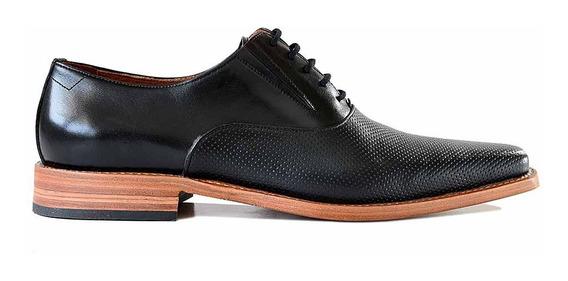 Zapato Vestir Cuero Briganti Hombre Cordon Suela - Hcac00969