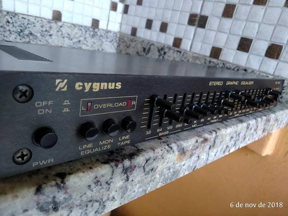 Equalizador Gráfico Cygnus Ge400 Estado De Novo - Não Envio