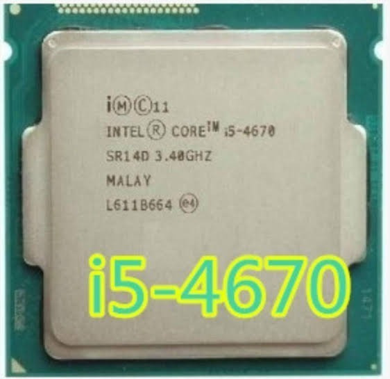 Vendo Processador I5 4670 3.4 Ghz. 1150