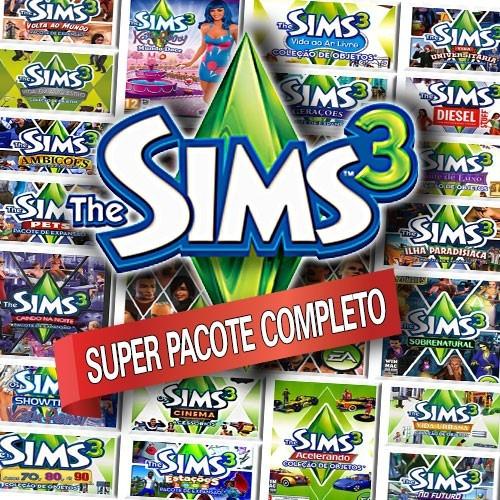 The Sims 3 + Todas As Expansões - Português - Envio Online