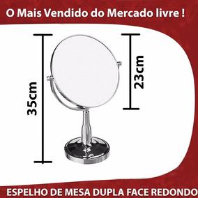 Refletor Espelho Maquiagem Zoom Beleza Apoio Mesa Salão Face