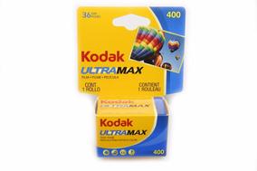 Filme Fotográfico 35mm Kodak 36 Poses Asa400 Ultramax