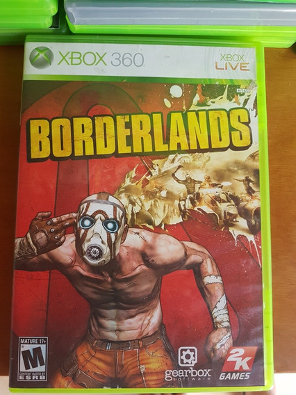 3 Borderlands Originais Xbox 360