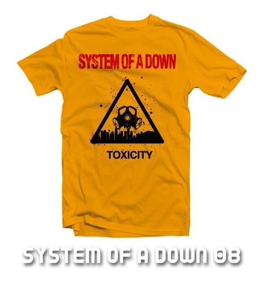 Playeras System Of A Down - 13 Diseños Disponibles