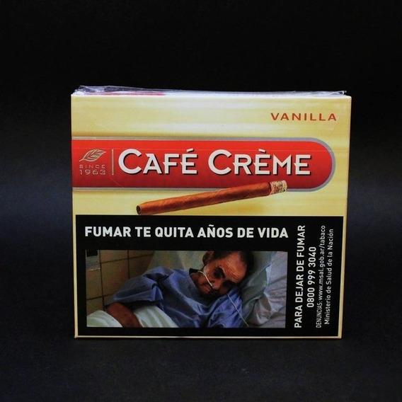Café Crème Cigarros Pack 100 Unidades Sabor Vainilla - Chapa