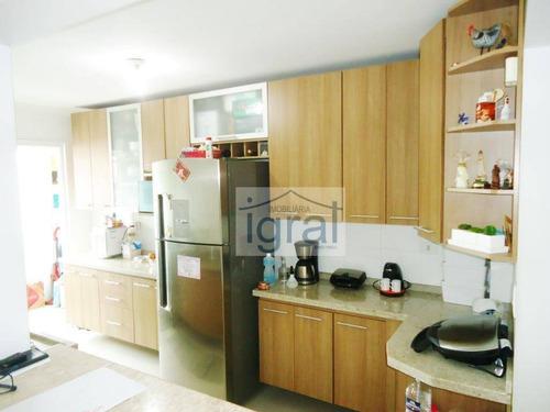 Imagem 1 de 11 de Apartamento À Venda, 73 M² Por R$ 380.000,00 - Vila Guarani (zona Sul) - São Paulo/sp - Ap1224