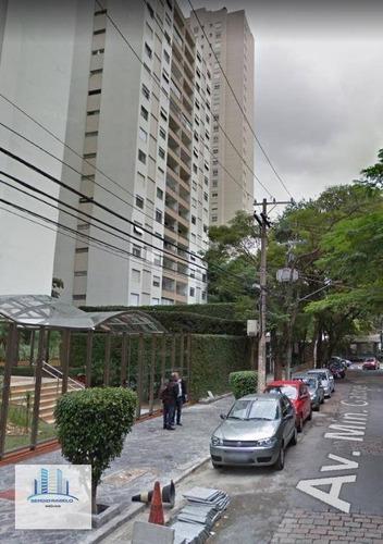 Apartamento Residencial À Venda, Moema, São Paulo. - Ap2735