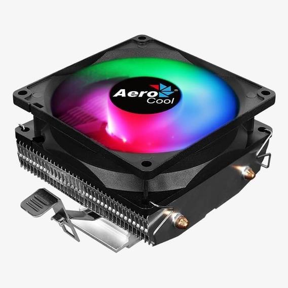 Cooler Cpu Aerocool Air Frost 2 Disipador Rgb Intel Amd 1151