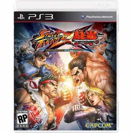 Street Fighter X Tekken: Special Edition Semi-novo Ps3