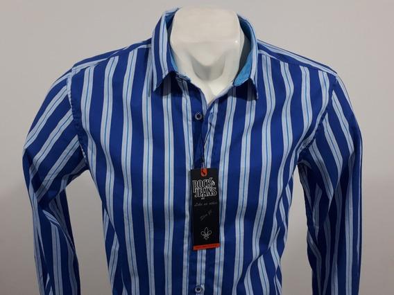 Camisa Rock And Jeans Slim Fit M/l 195715 Culiacán Sinaloa