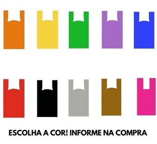Sacola Plastica Lindas 30x40 500 Unidades Qualquer Cor