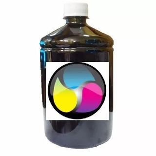 1litro Tinta Plus Corante Universal Para Todas Impressoras