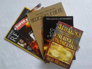 Kit Evangélico - 2 Livros + 3 Revistas