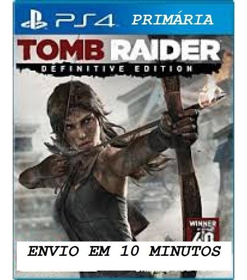 Tomb Raider Definitive Edit Pt-br Psn | Ps4 1 | Digital