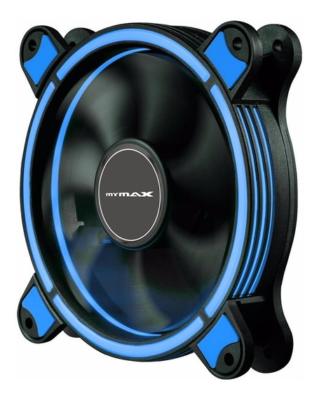 Cooler 120mm Led Ring Pc Gamer Fan Gabinete Mymax Spectrum