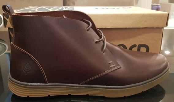 Bota Sapato Em Couro Nova