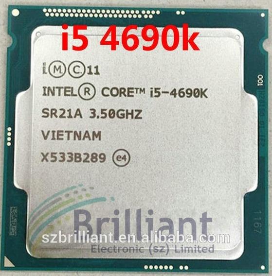 Processador Intel Core I5 4690k 1150 Melhor Q 4670 4590 4570