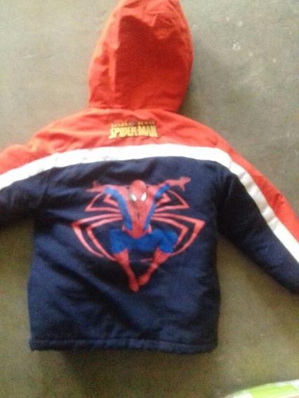 Chamarra Gruesa D Spider-man Niño Hombre Araña 6 Años