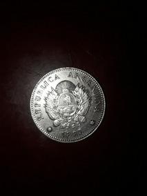 Moneda De Plata 20 Centavos De Patacon 1883 Excelente!!!!