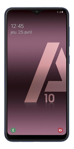Celular Smartphone Samsung Galaxy A10 A105m 32gb Azul - Dual Chip