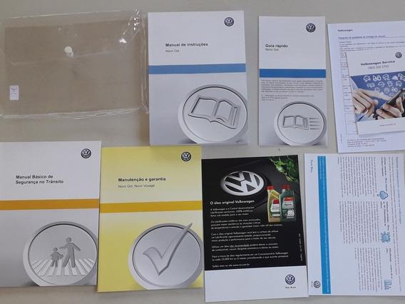 Manual Do Volkswagen Gol G6 2013/2014/2015 Novo Em Branco