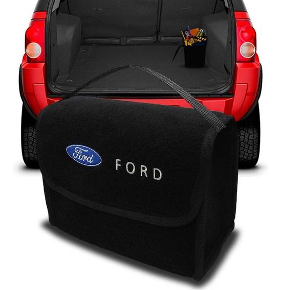 Bolsa Automotiva Porta Malas Ecosport Multiuso Carpete