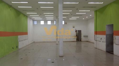 Imagem 1 de 3 de Salão Comercial Em Helena Maria  -  Osasco - 44233