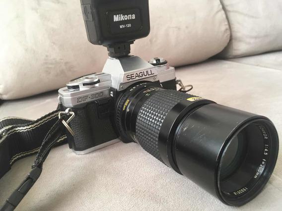Máquina Fotográfica Minolta Seagull Df 300 Com Case